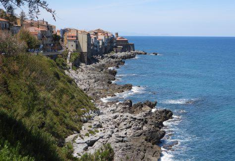 La côte (avant la plage)